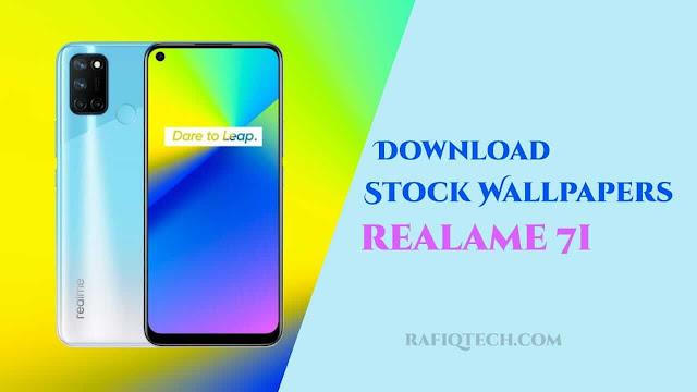 تحميل  خلفيات ريلمي  Realme 7i الأصلية بجودة عالية الدقة
