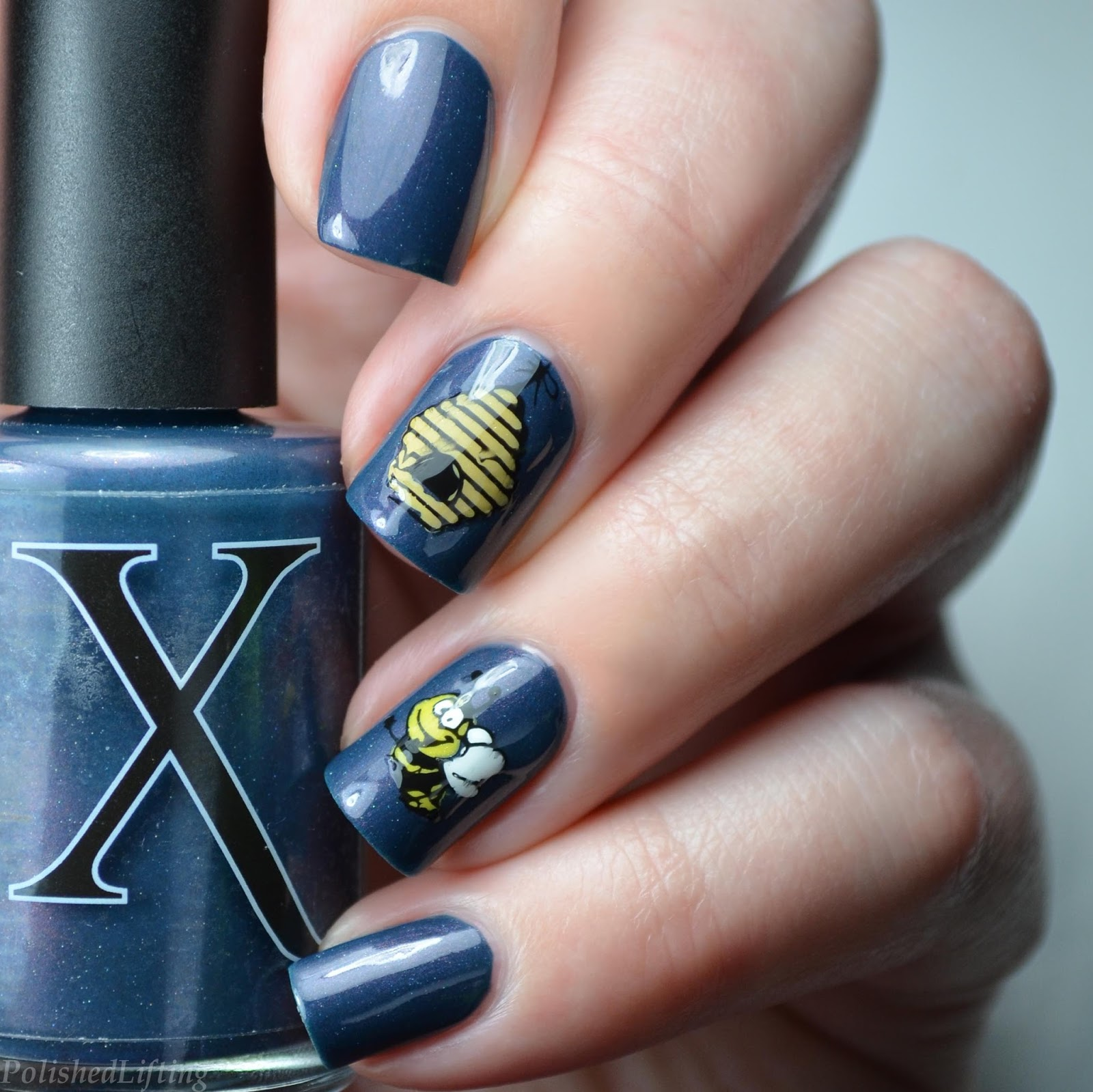 Polished Lifting Honeybee Nail Art Featuring Harunouta And Baroness X