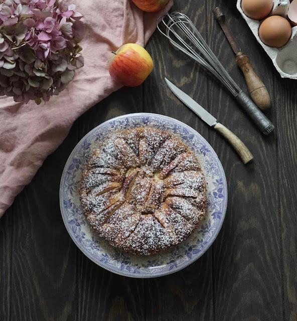 gâteau de fromage , frais , pommes , recette de saison