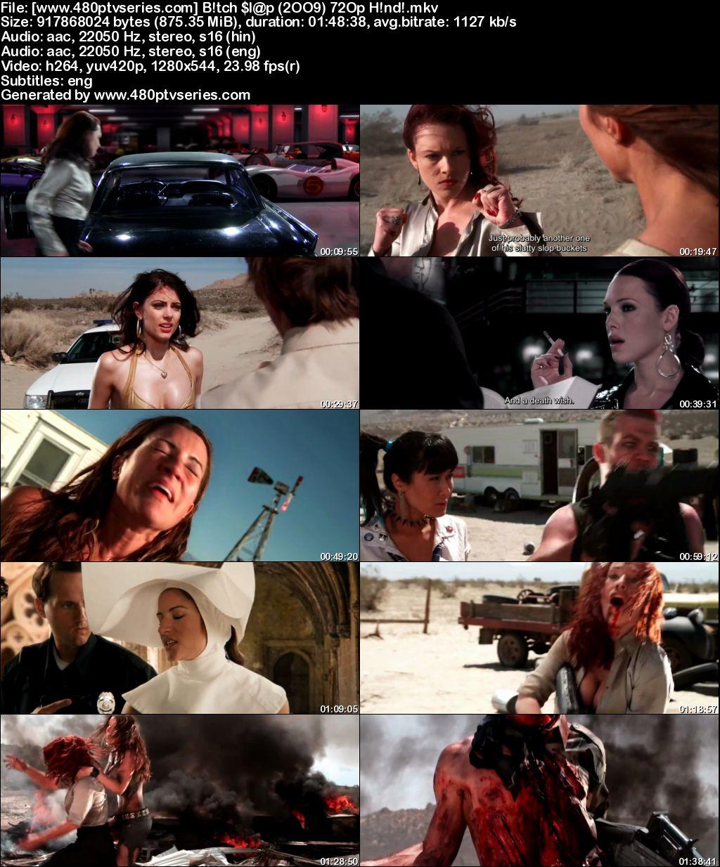 Watch Online Free Bitch Slap (2009) Full Hindi Dual Audio Movie Download 480p 720p Bluray