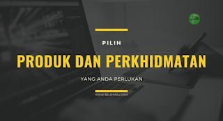 produk dan perkhidmatan Sarawak