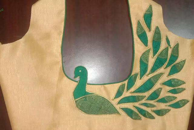 Peacock Blouse Designs