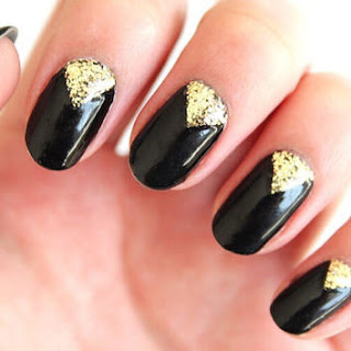 creative-shimmer-ideas-nail art