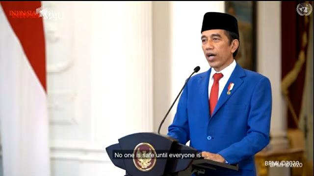 Akhirnya Jokowi Pidato Perdana di PBB, Berbahasa Indonesia!