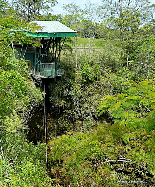 Elevador da Furna, Parque Estadual de Vila Velha, Paraná