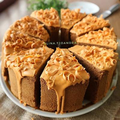 Resep Thai Tea Chiffon Cake Oleh Lina Tjoandra