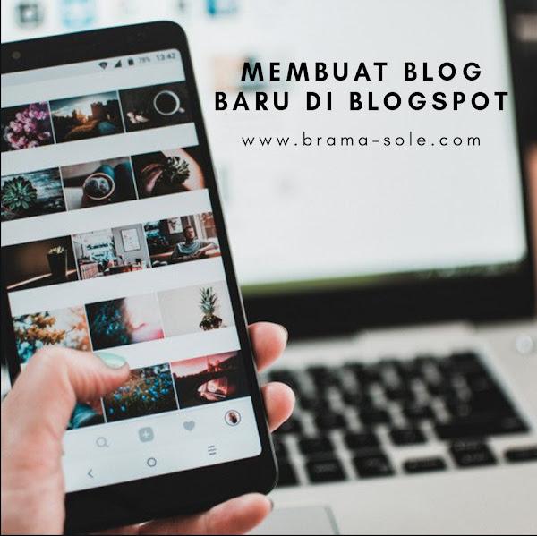 Membuat Blog Baru di Blogspot