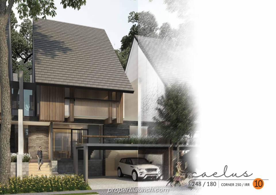 Rumah Cluster Caelus Tipe 10 Corner