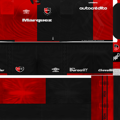 PES 6 Kits Newell's Old Boys Season 2018/2019 by Rodry90 Kitmaker