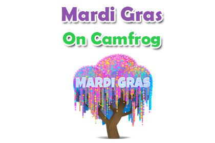 Mardi Gras on Camfrog - Cafe Camfrog