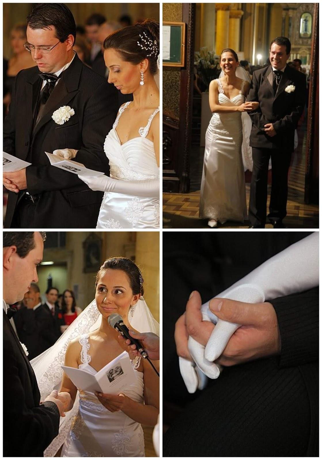 Os votos de matrimônio