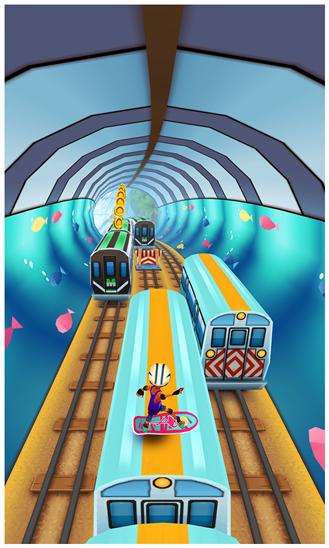 تحميل لعبة Subway Surfers الشهيرة لهواتف نوكيا لوميا وأنظمة ويندوز فون مجاناً xap