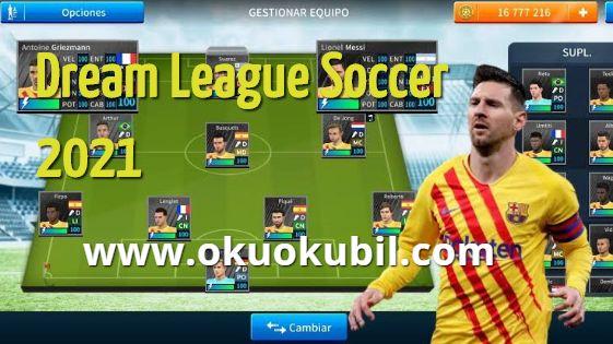 Dream League Soccer 2021 Yeni Özellikler Hileli Mod Apk + Data indir 2020