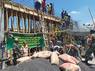 Karya Bakti TNI Solusi Atasi Kesulitan Rakyat Bantaran