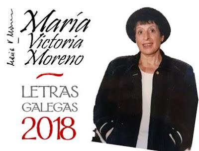 Presentación sobre Mª Victoria Moreno