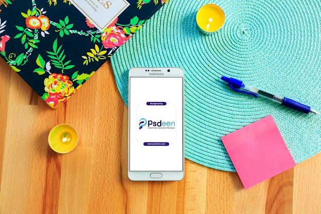 samsung smartphone mockup free