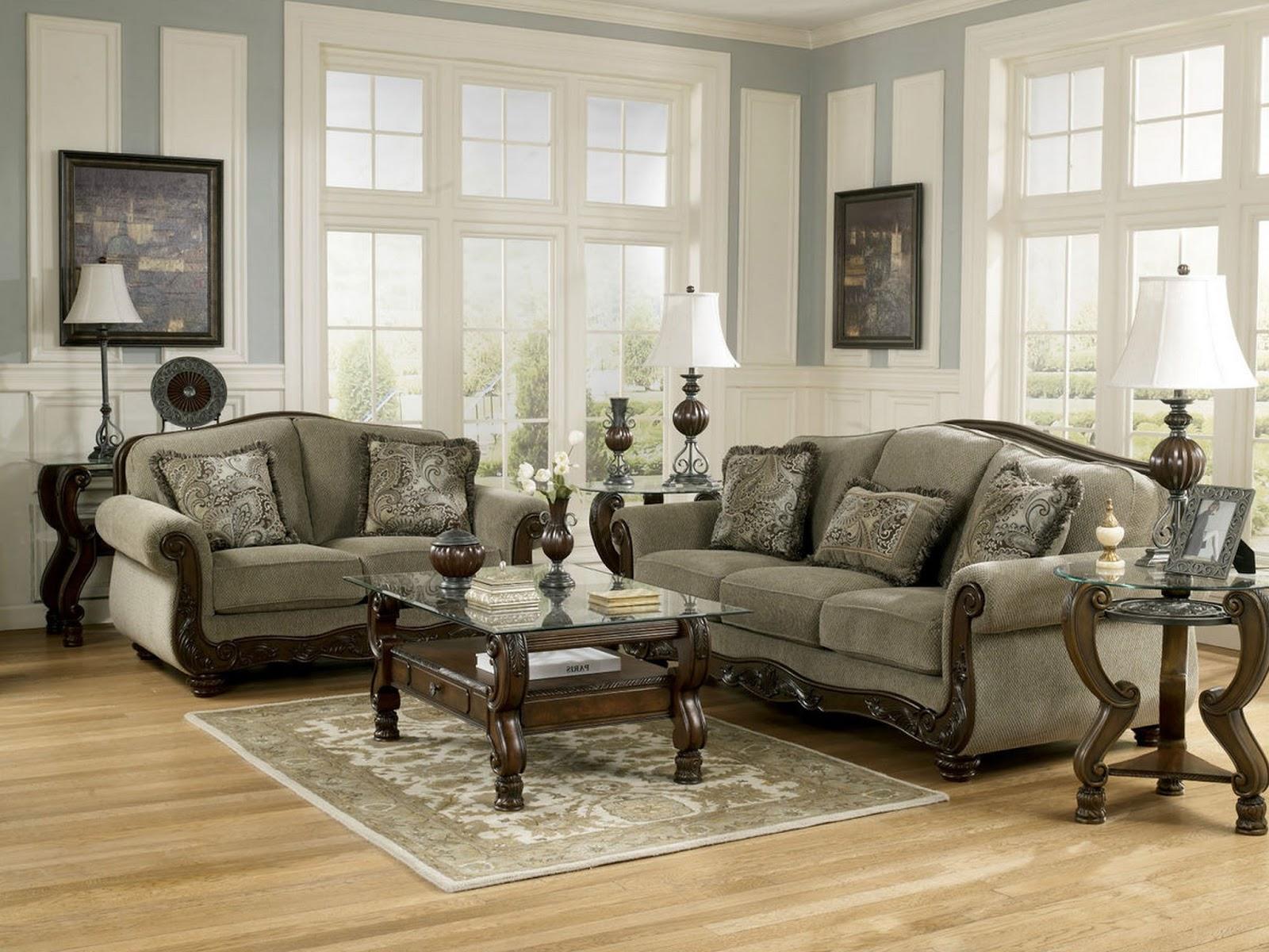 ashley living room sets
