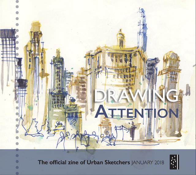 Drawing Attention - January 2018 issue