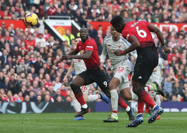 Manchester United Paul Pogba Squires Off To Romelu Lukaku