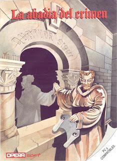 Portada videojuego La abadía del crimen
