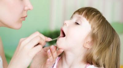 Khi trẻ bị viêm amidan nên ăn gì?