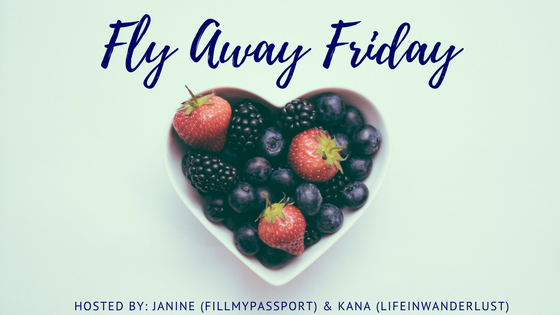 Travel Blogger Link-up Fly Away Friday