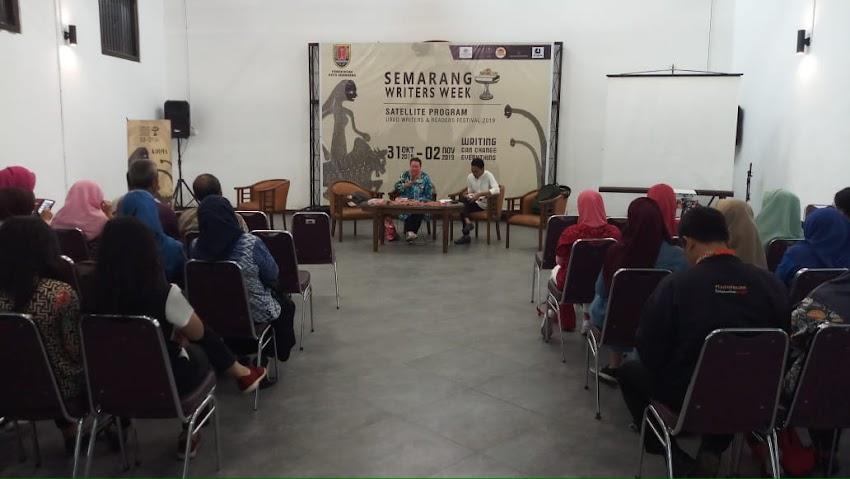 Event Satellite UWRF 2019 Semarang Writers Week 2019