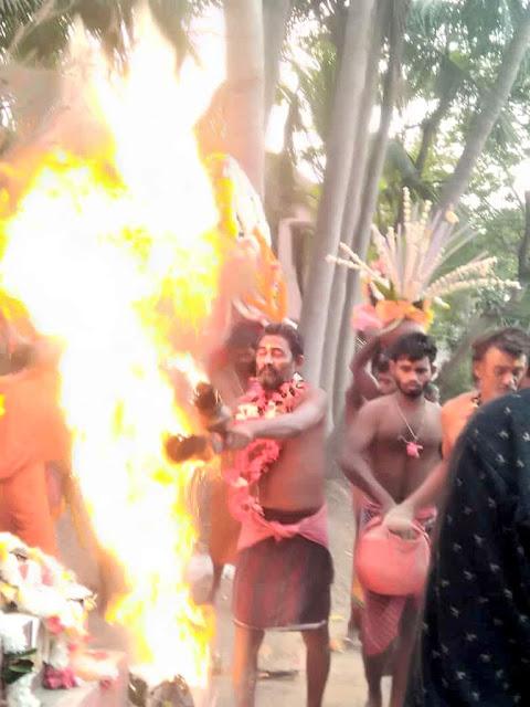 Danda-Jatra at Taratarini Temple