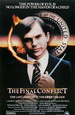 Original one-sheet for OMEN III: THE FINAL CONFLICT.