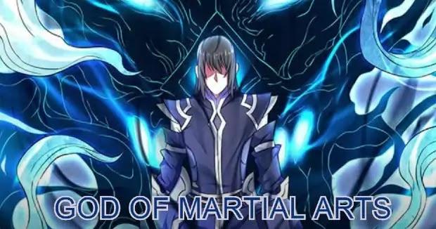 God of martial arts anime