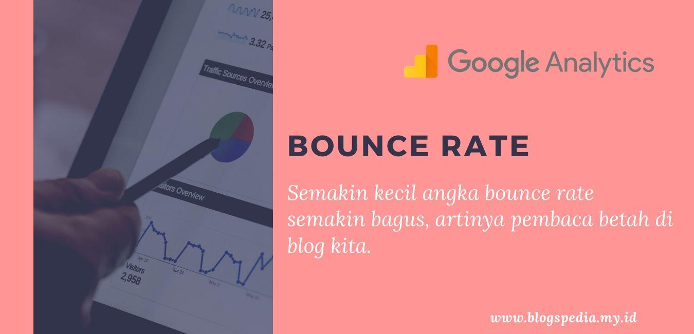 cara menggunakan google analytics data bounce rate