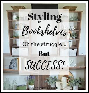 Styling Bookshelves