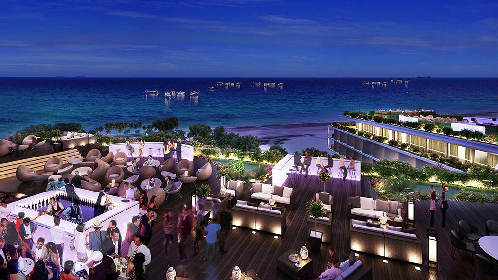 Sky Bar tầng trhượng trên Sonasea Condotel Phú Quốc