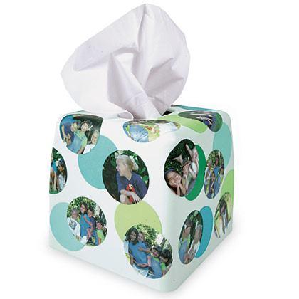 Photo-Collage Tissue Box Cover