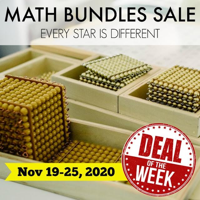 Deal of the Week: Math Bundles Sale