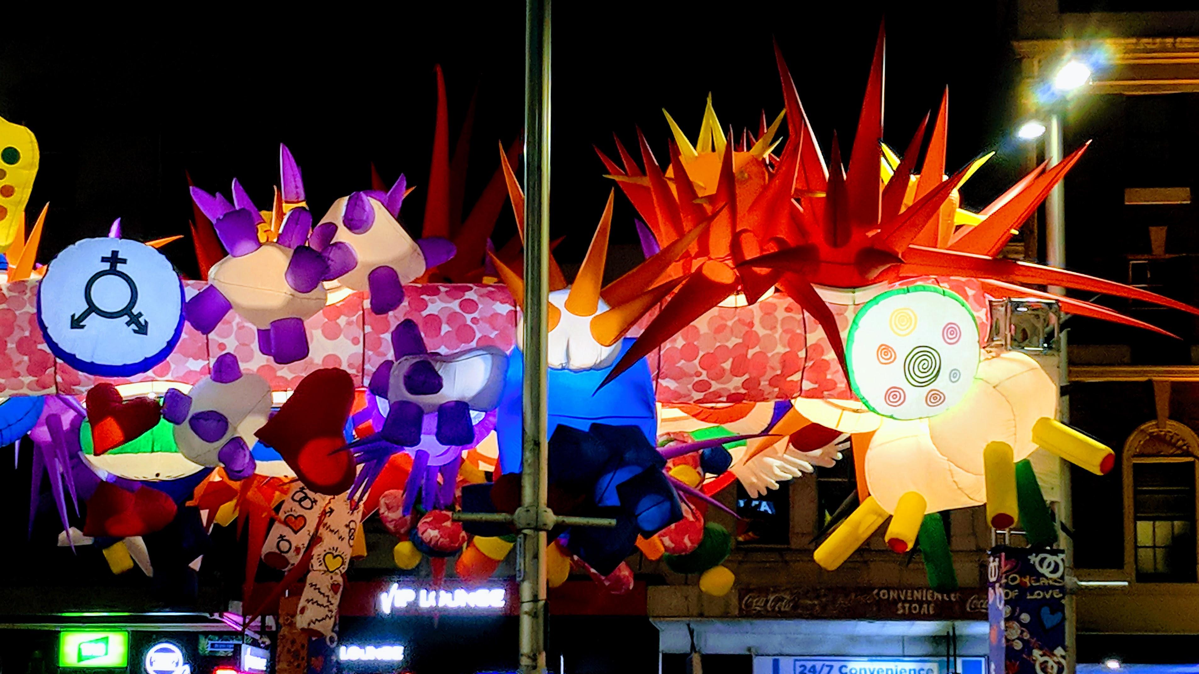 Colourful King Cross, Sydney