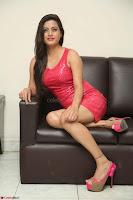 Shipra Gaur in Pink Short Micro Mini Tight Dress ~  Exclusive 078.JPG