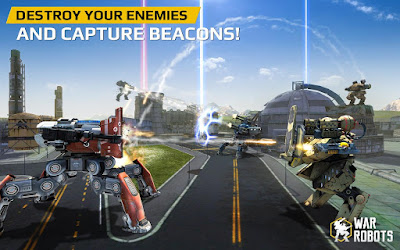 War Robots (Unlimited Money) Mod Apk for Android Terbaru