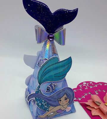 Mermaid die, Mermaid gift box