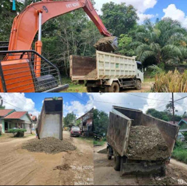 Masyarakat Apresiasi Respon Cepat Pemda Melawi Perbaiki Jalan Rusak, Jalan Provinsi Sayan - Kota baru