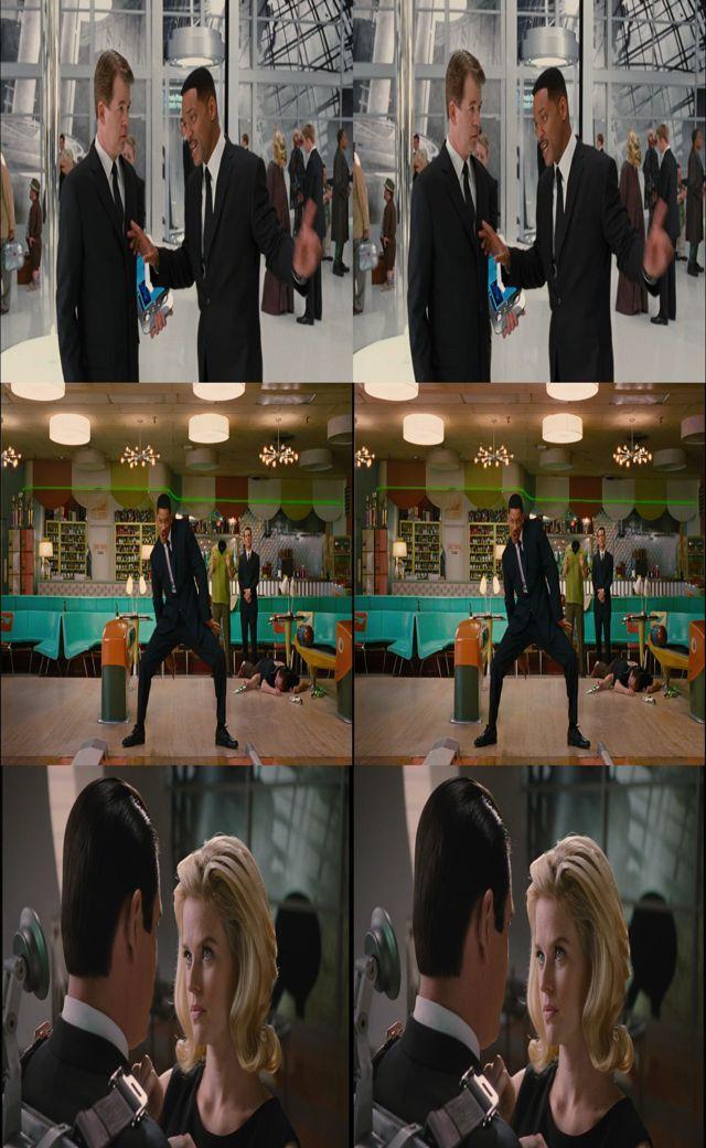Hombres De Negro 3 3D SBS 1080p MKV Latino