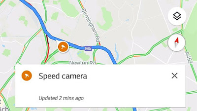 Google Maps will now warn drivers about upcoming speed traps