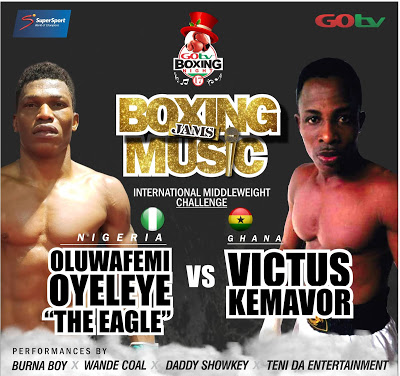 GOtv Boxing Night 17 : Oyeleye Gets New Opponent As Injury Rules Out Mwankemwa