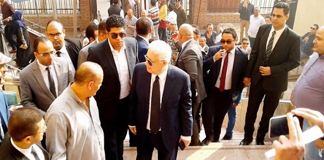 قضية محمود البنا - مرتضي منصور يدافع عن حق محمود البنا