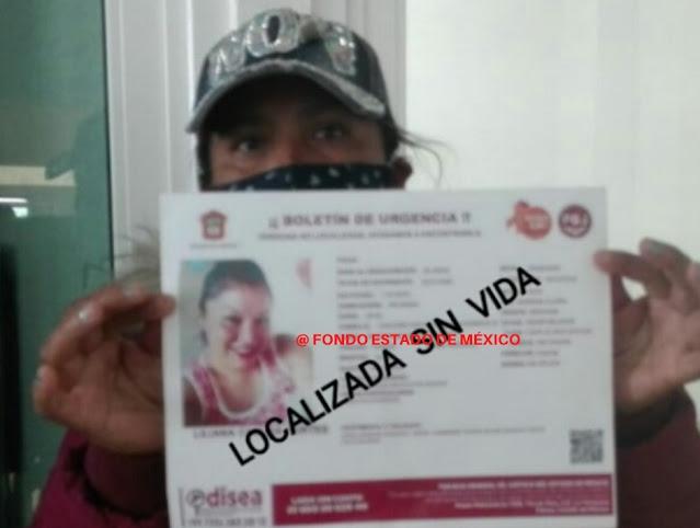 URGENTE: Liliana salió por unas hamburguesas y ya no volvió; fue hallada muerta en ECATEPEC