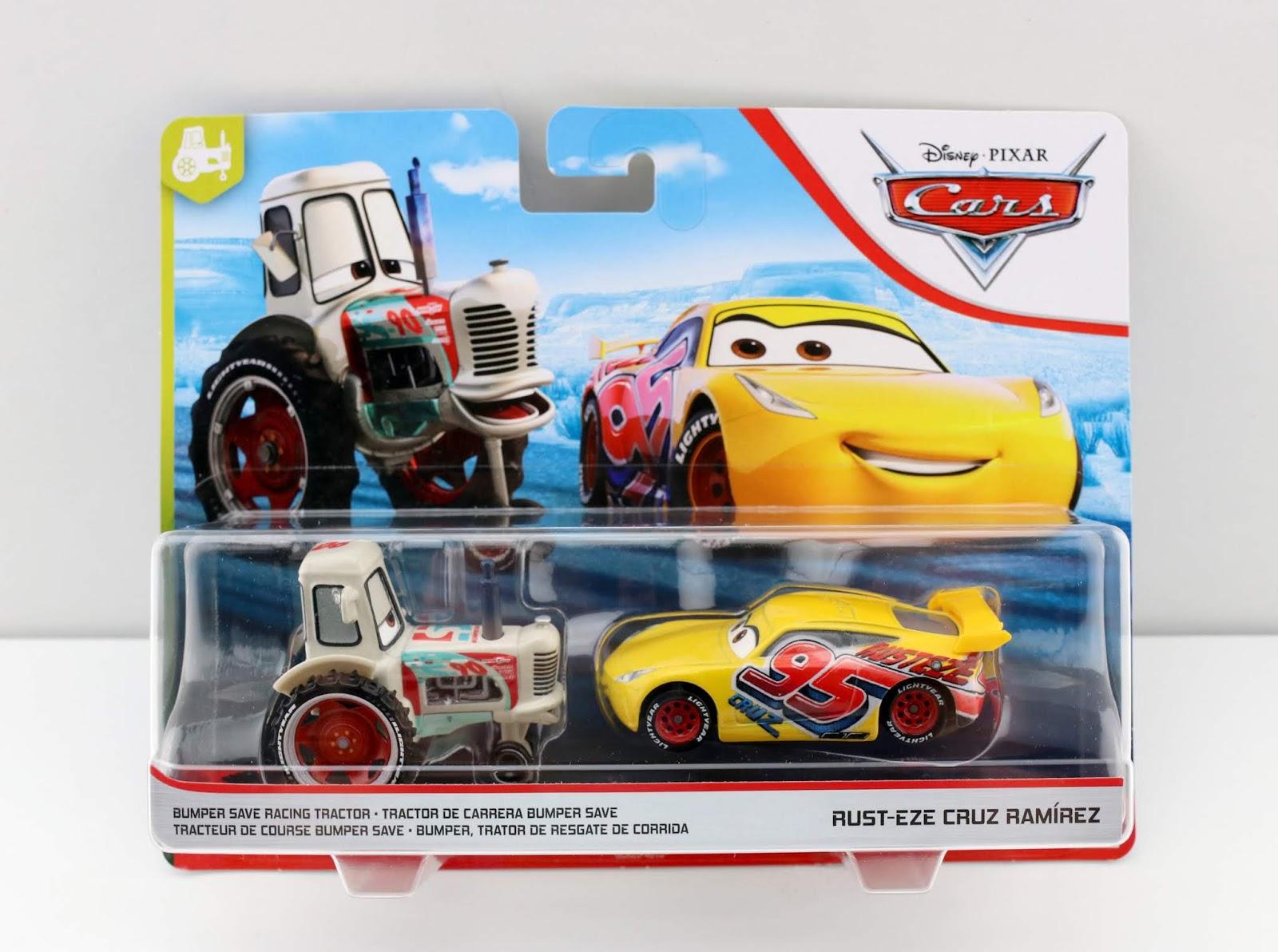 Cars 3 Bumper Save Racing Tractor & Rust-Eze Cruz Ramirez