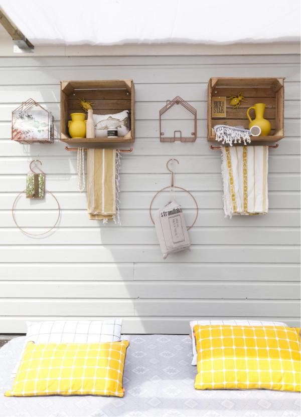 Idee fai da te per arredare lo spazio esterno blog di for Idee decorazioni casa fai da te