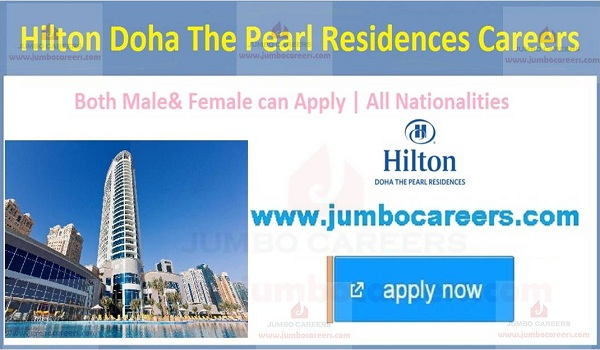 Qatar hotel jobs with salary, latest Available hotel jobs in Qatar,