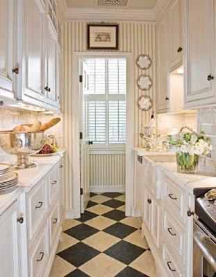 gambar dekorasi dapur kecil sempit terbaru