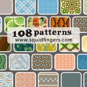 108 photoshop patterns